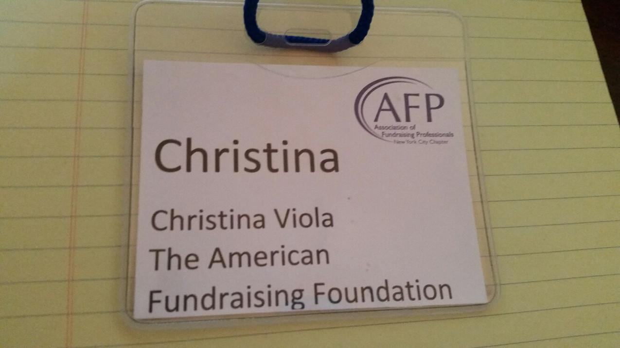 AFP NY Badge