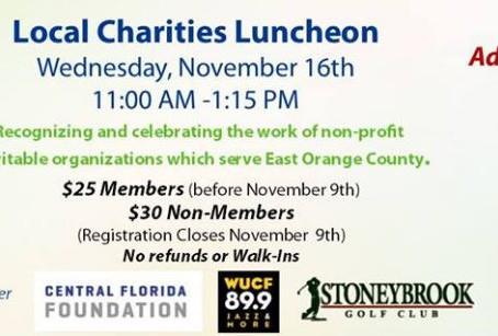Charities Luncheon