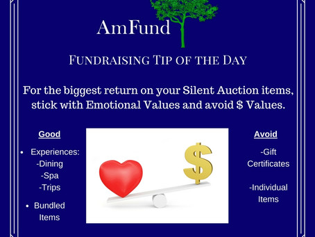 Silent Auction Return