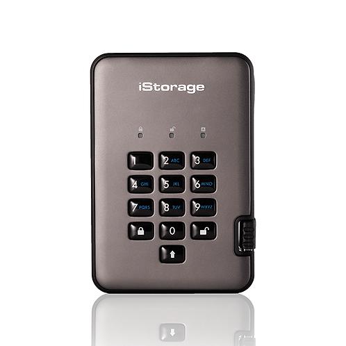 iStorage - diskAshur Pro2 256-bit - SSD - Graphite