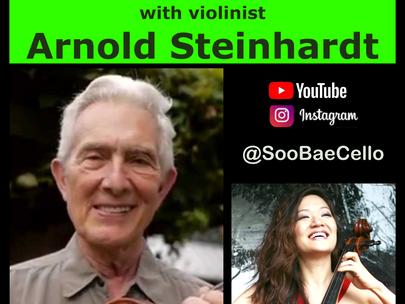 🍎PRACTICE CHAT🍎 Arnold Steinhardt