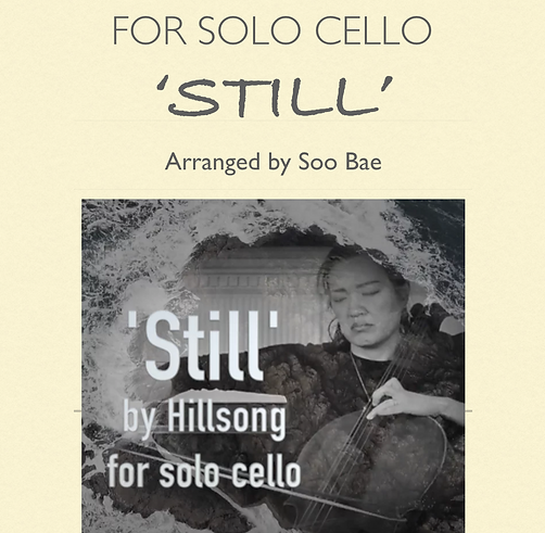 'Still' from Hillsong for solo cello
