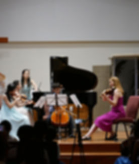 AME students play for the benefit concert