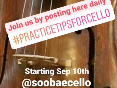 30 Days Practice Challenge via Instagram!