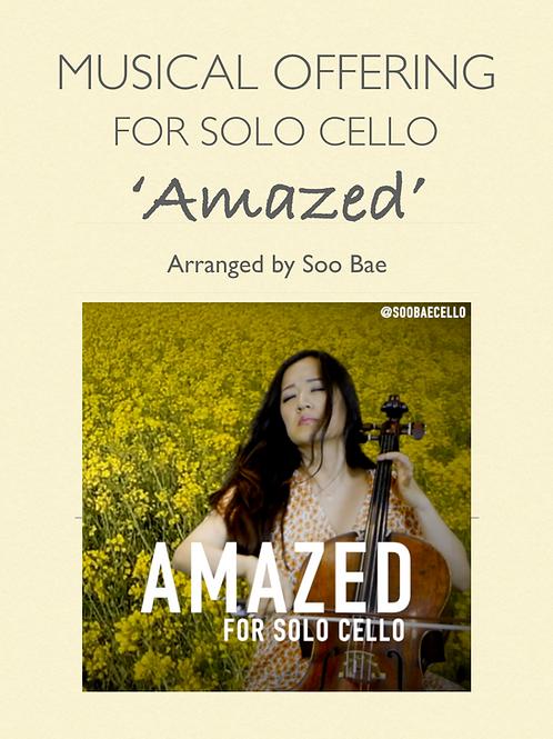 Amazed for solo cello
