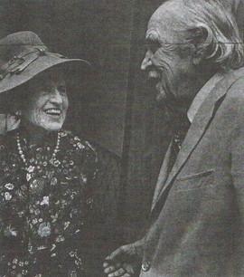 Rose Kennedy with John D. MacArthur