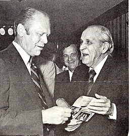 President Gerald Ford with  J.D.