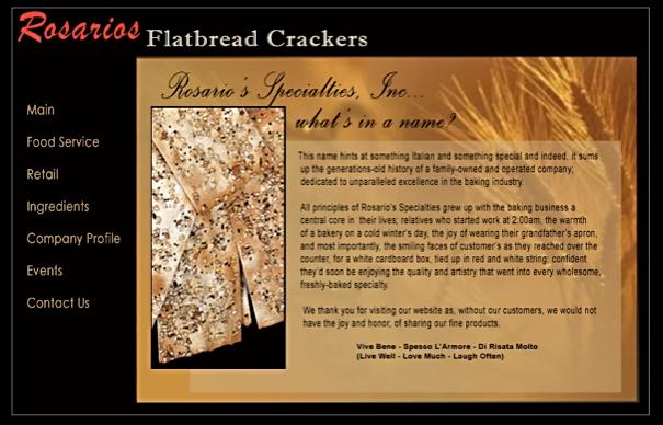 Flatbread Crackers