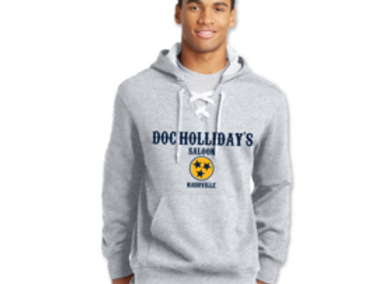 Doc Hollidays Lace Up Hoodie