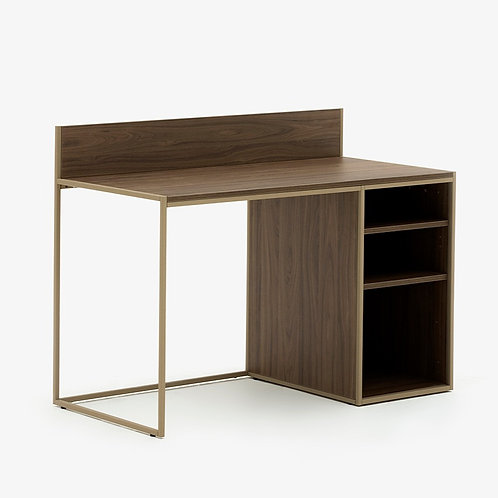 Allermuir Crate Desk w/ Open Pedestal