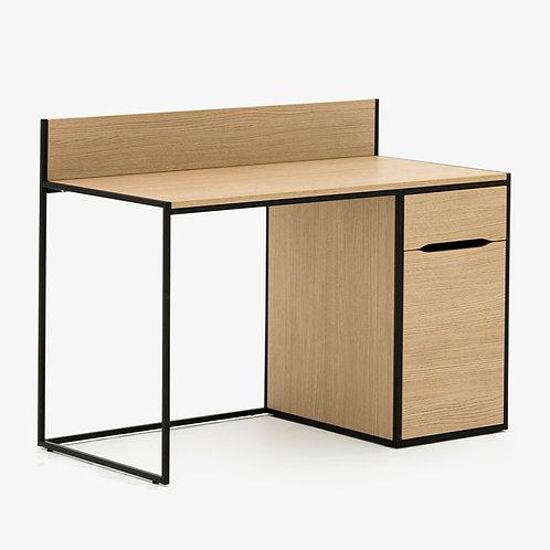 Allermuir Crate Desk w/ Drawer Pedestal