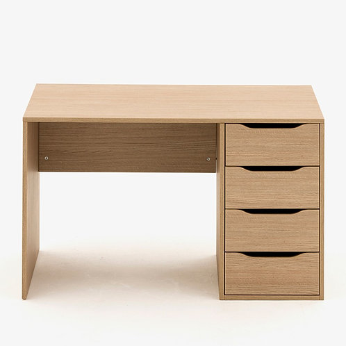 Allermuir Panel Desk w/Storage
