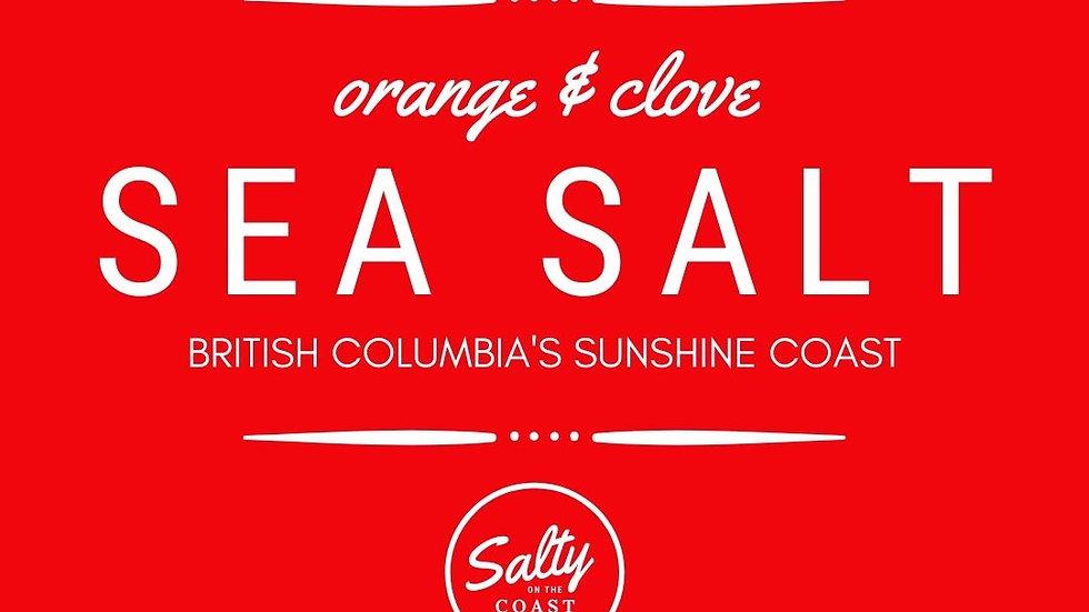 Orange & Clove Sea Salt