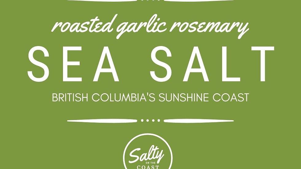 Roasted Garlic Rosemary Sea Salt