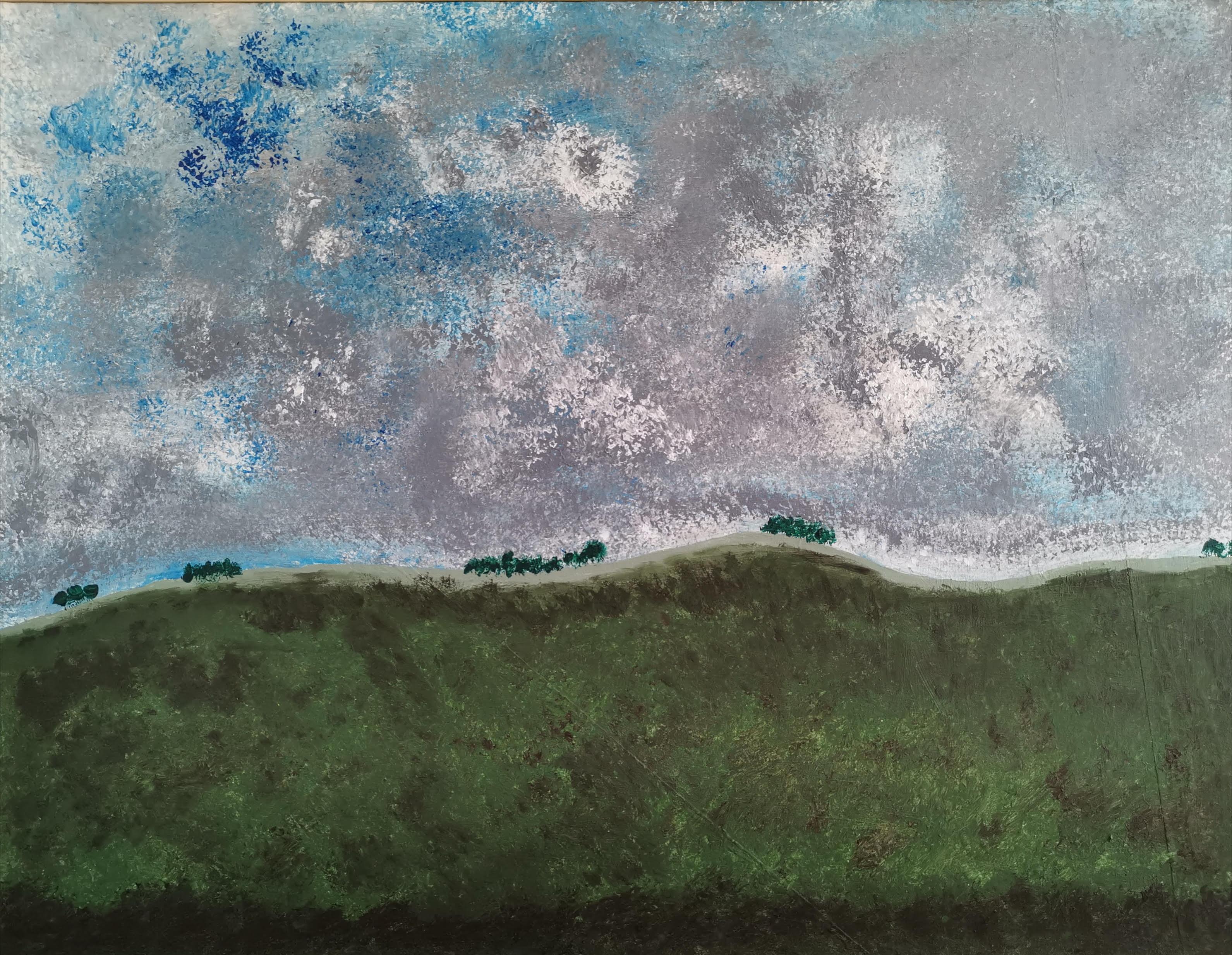 Grand paysage aux arbres 04.07.2019
