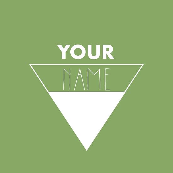 Block Triangle Logo