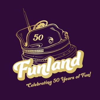 Funland 50 Years Logo