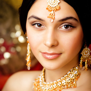 Indian bridal make up