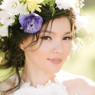 Asian bridal make up & hair