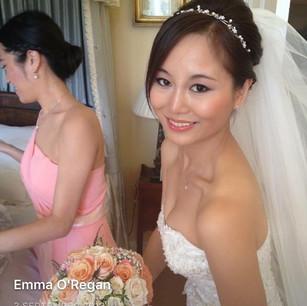 Asian bridal hair & make up