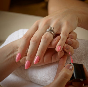 Bridesmaid nails party
