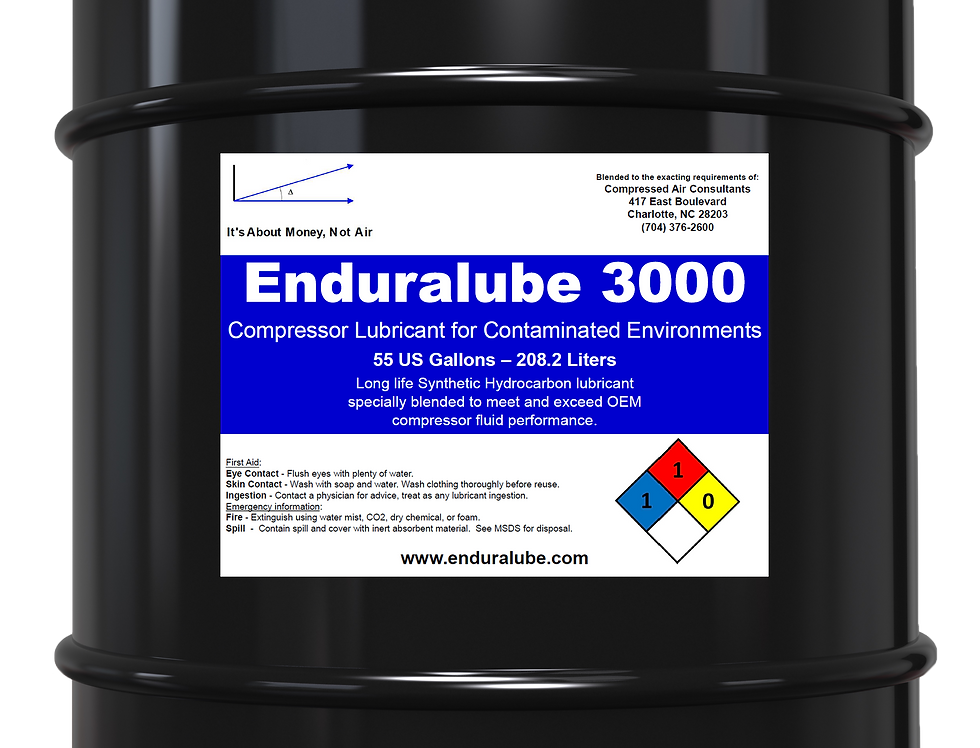 Enduralube 3000 Compressor Lubricant for Contaminated Environments (55 Gal.)
