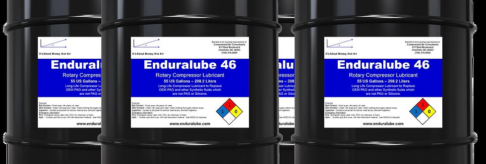 Enduralube 46 Rotary Compressor Lubricant Bulk (4 x 55 Gal.)