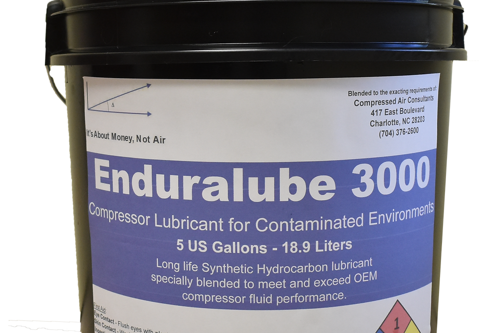 Enduralube 3000 Compressor Lubricant for Contaminated Environments (5 Gal.)
