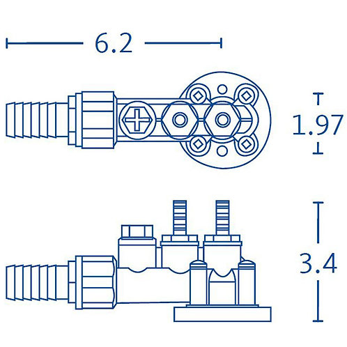 Multiple-Inlet Adapter