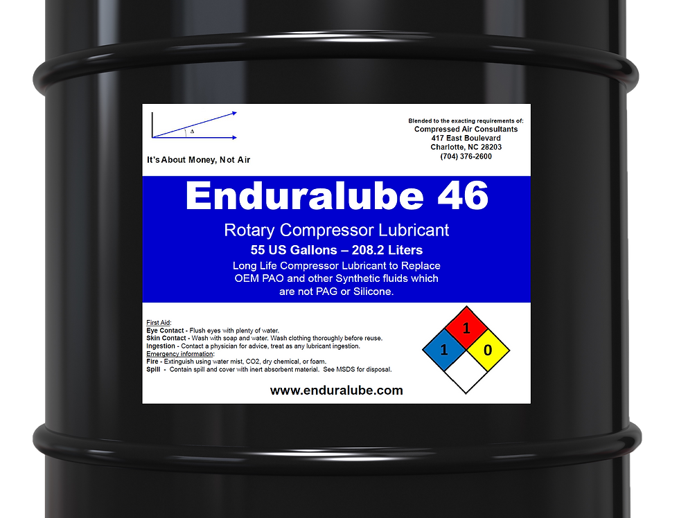 Enduralube 46 Rotary Compressor Lubricant (55 Gal.)