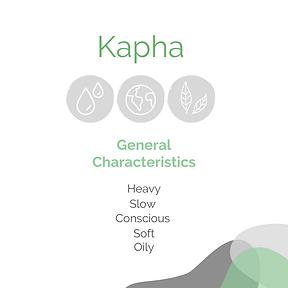 Kapha General Characteristics.png