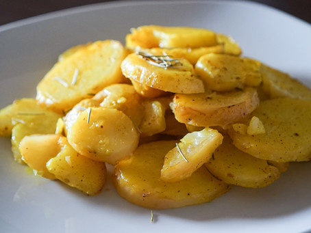 Potatoes Gauranga // Papas Gauranga