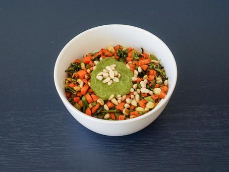 Delicious Vegan Pesto // Pesto Vegano Delicioso