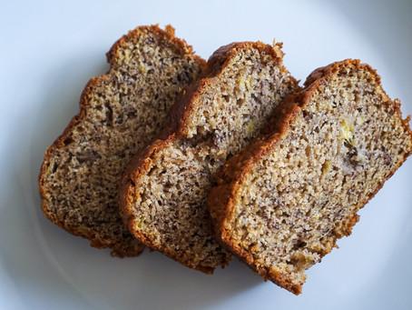 Vegan Banana Bread // Queque de Platano