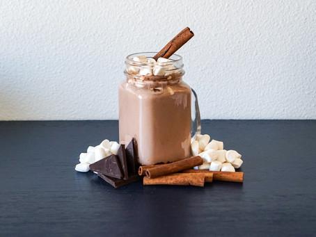 Vegan Hot Chocolate // Chocolate Caliente Vegano