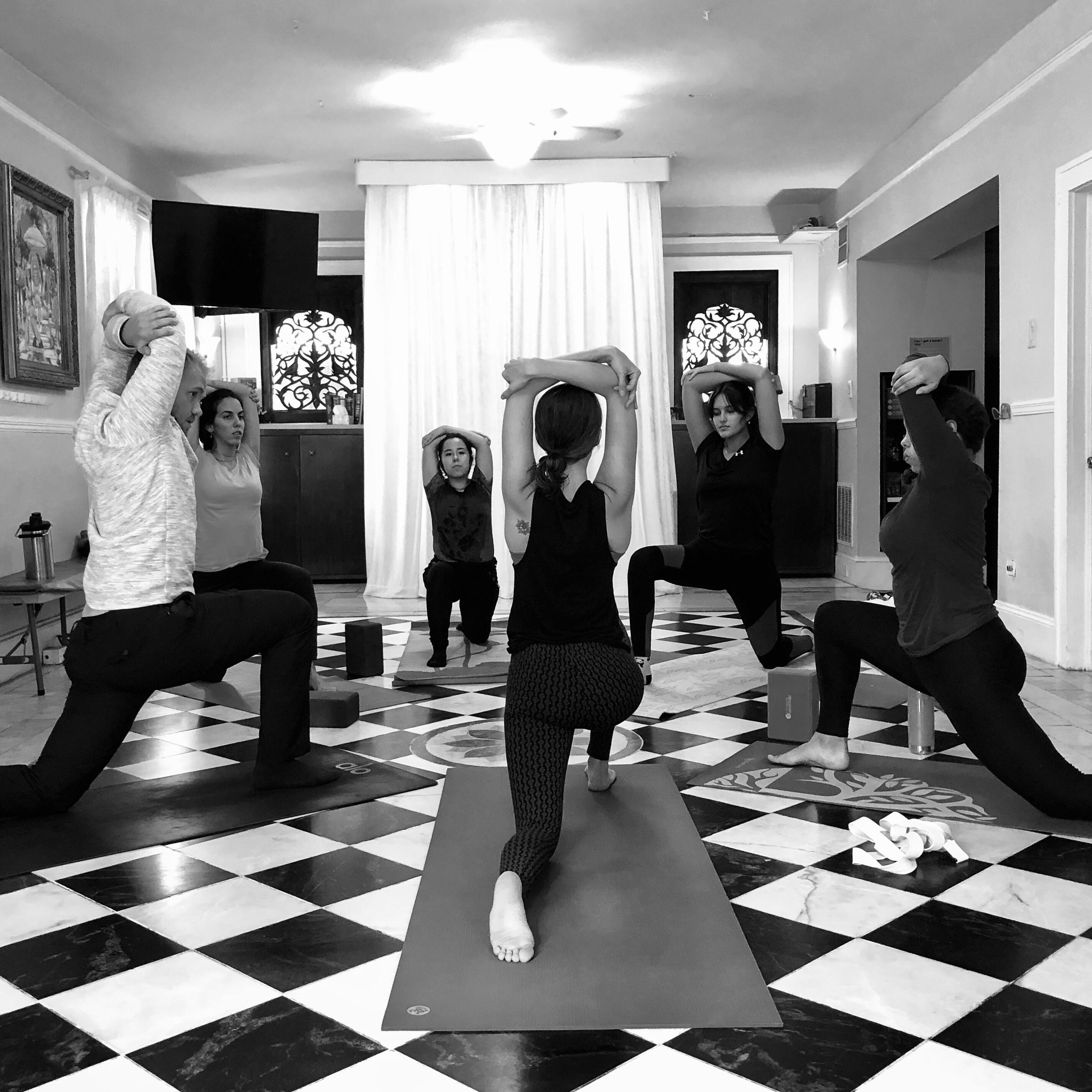 Small Group Katonah Yoga® Session