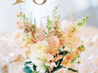 Wedding Table Name & Number Ideas