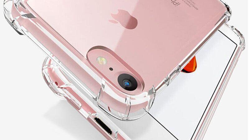 Luxury Shockproof Silicone Phone Case for iPhone 7 8 6 6S Plus 7 Plus 8 Plus XS