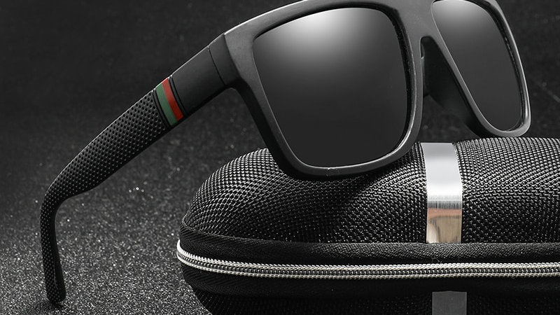 Polaroid Sunglasses Square Vintage Unisex