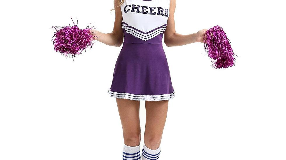Cheerleader Costume Schoolgirl Lingerie Dirndl School Girl Sexy Costumes