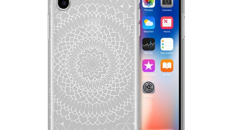 Steph Okits X Milkyway Cases Fleur Mandala - Clear TPU Case Cover