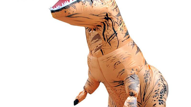 Inflatable Dinosaur Costume T REX Rider Costumes Carnival Costume Halloween