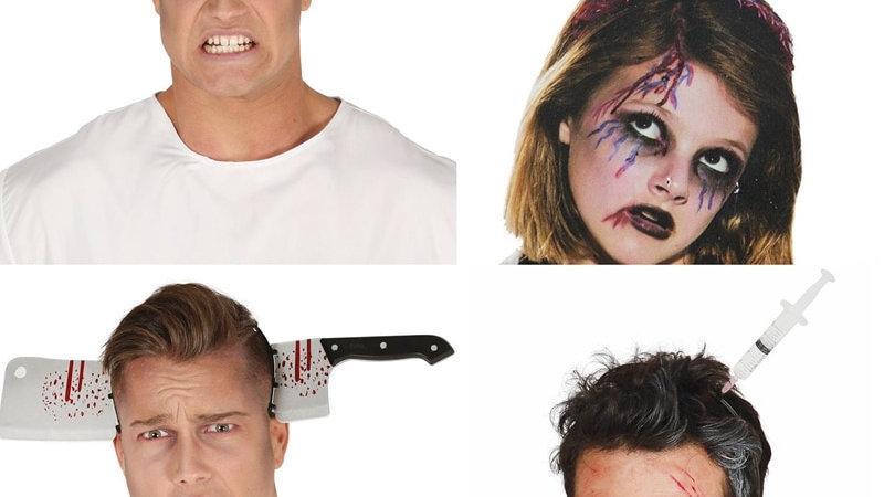 Horror Headband Halloween Decoration Scary Knife Halloween Accessories Props