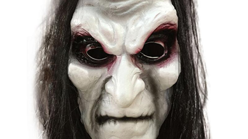 Halloween Zombie Mask Ghost Festival Horror Mask Scary Halloween Long Hair