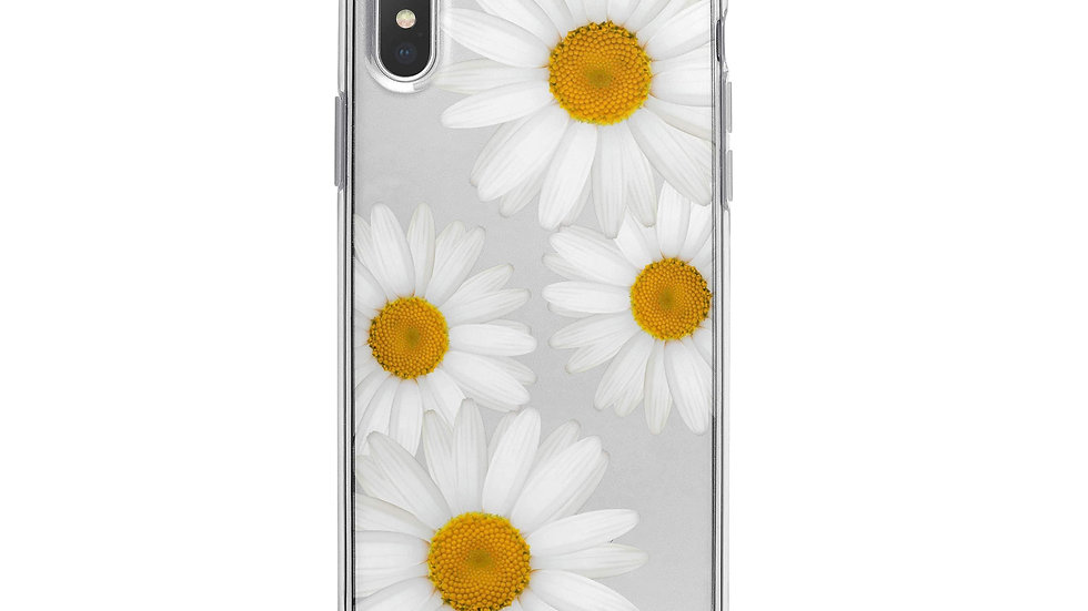 It's Daisies iPhone X Case Clear