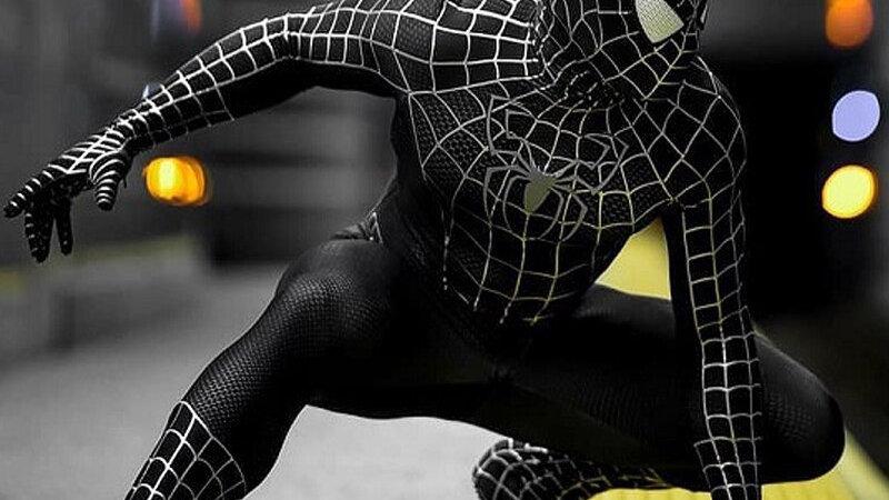 Adult Kids Black Spiderman Costume Cosplay Superhero Zentai Suit Catsuit Men