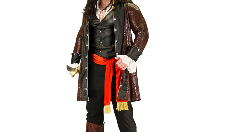 Adult Men's Luxury Pirate Costume Imitation Halloween Party Cosplay Pirate