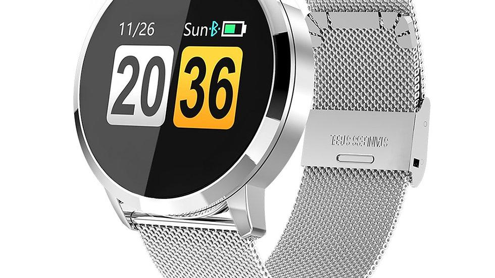 RUNDOING Q8 Watch OLED Smartwatch Fashion Fitness Tracker Heart Rate Monitor