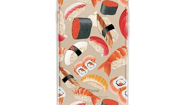 Sushi Pandemonium iPhone 7 Case Clear
