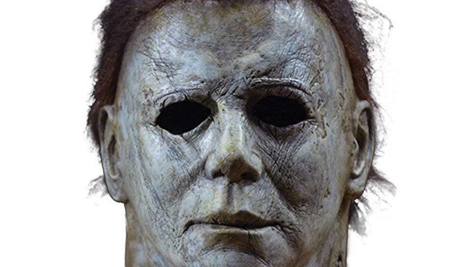 Halloween Horror Michael Myers Mask Cosplay Latex Full Face Helmet Halloween